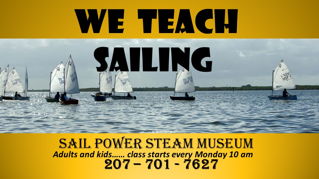 SAIL POWER & STEAM MUSEUM - 1 Home & Donors